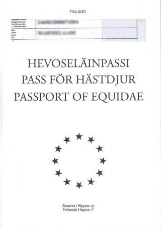 Hevoseläimen passi