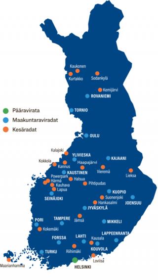 Kesäravit_kartta
