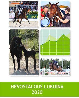 Hevostalous lukuina oppaan kansikuva