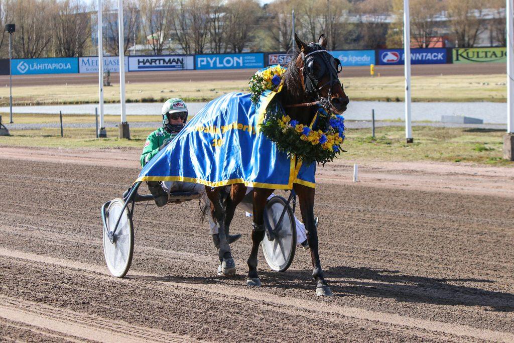Chicharita voitti Vermon Arvid Åvallin Tammaderbyn