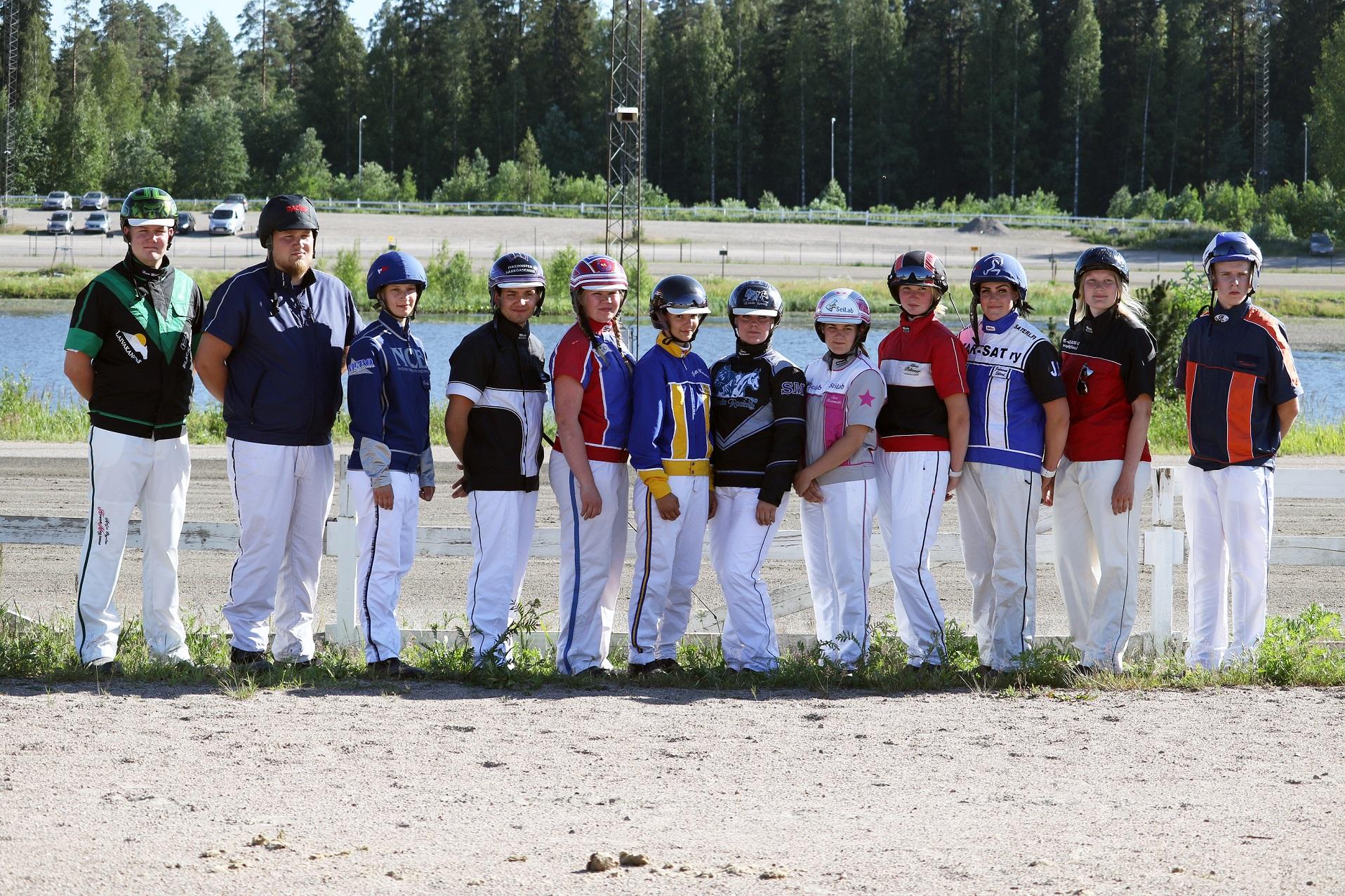 Juniorikypärien osallistujat 2021