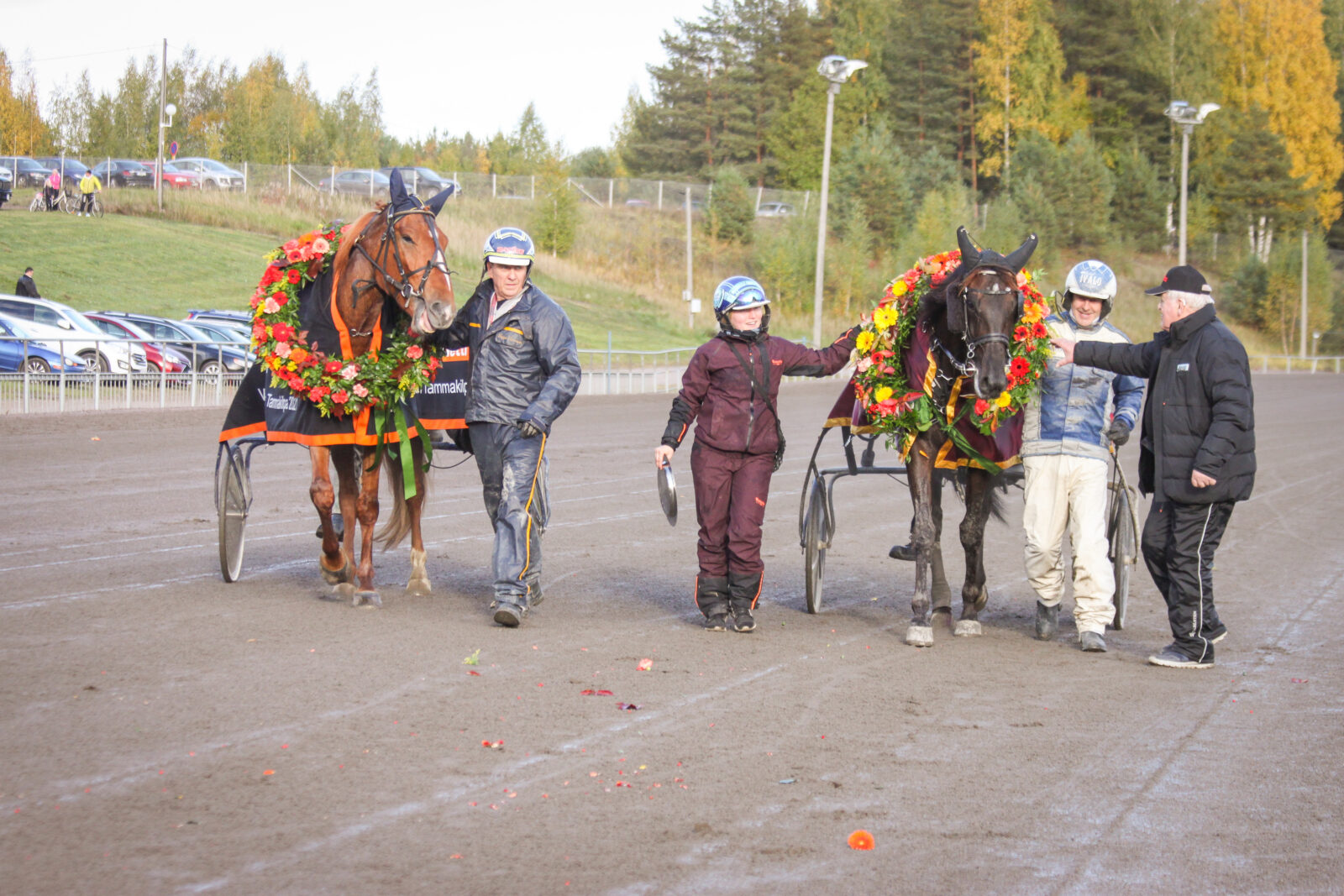 Villinmiehen Tammakilvan finaalien voittajat 2021 Liinan Säihke ja An-Dorra. Kuva: Hippos / Reeta Heino